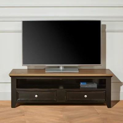 meuble tv en coin blanc la redoute