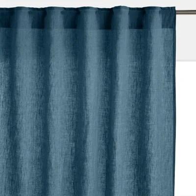 rideau bleu pastel la redoute