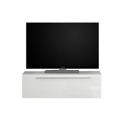 meuble tv avec element mural la redoute