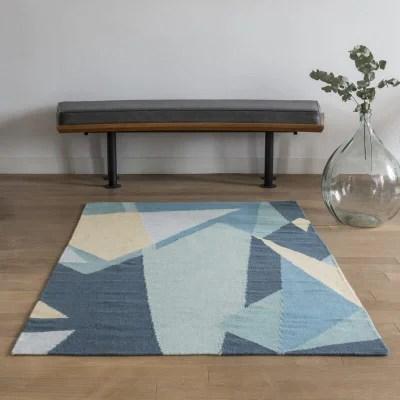 tapis bleu chambre garcon la redoute