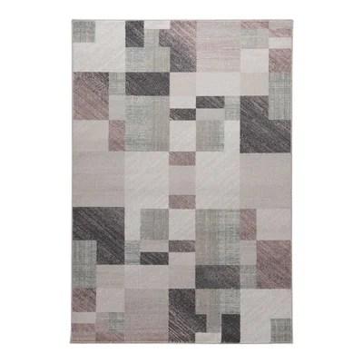 tapis geometrique beige la redoute