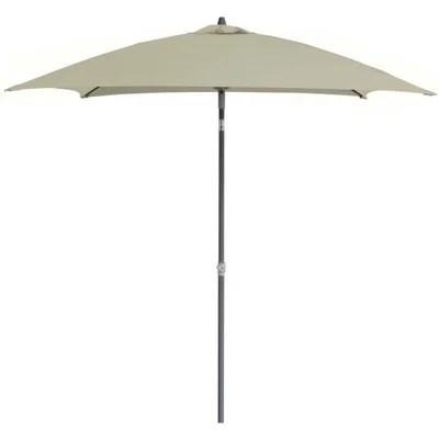 parasol blanc la redoute