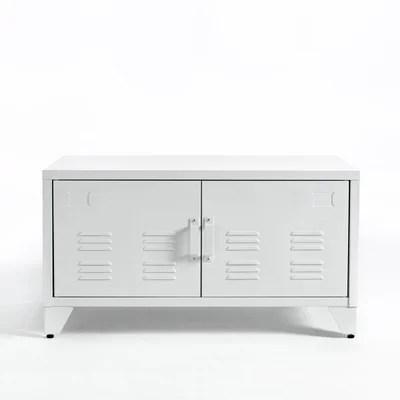 meuble blanc 2 portes la redoute