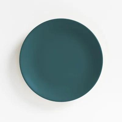 assiette bleu canard la redoute