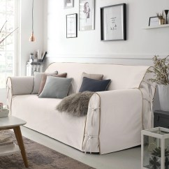 Chair Covers Sofa Benchmaster Ventura Leather And Storage Ottoman La Redoute Bridgy Cover Interieurs