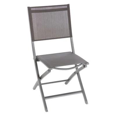 chaise pliante salon la redoute