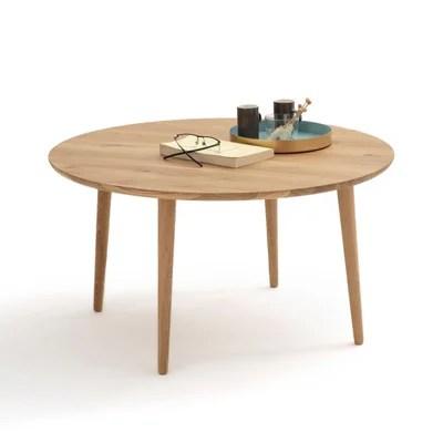 table basse ronde la redoute