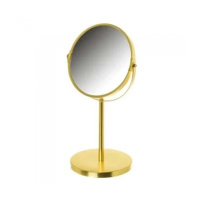 Miroir Grossissant Dore La Redoute