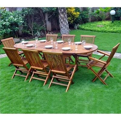ensemble table chaise de jardin la