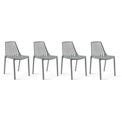 4 chaise de jardin la redoute