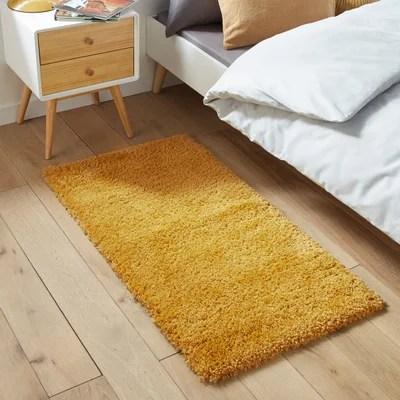 tapis jaune et bleu la redoute
