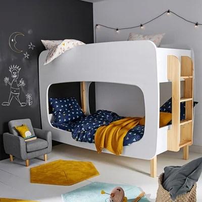 chambre enfant lit commode bureau