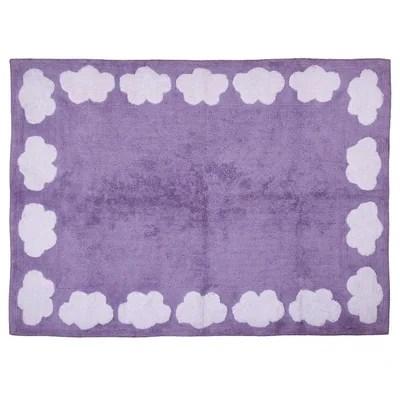 tapis enfant violet la redoute
