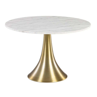 table ronde marbre la redoute
