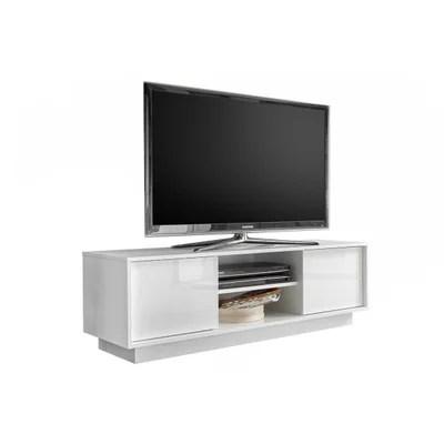 meubles tv laque blanc la redoute