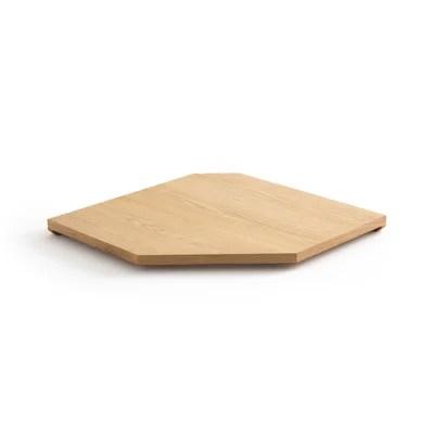etagere d angle en bois la redoute