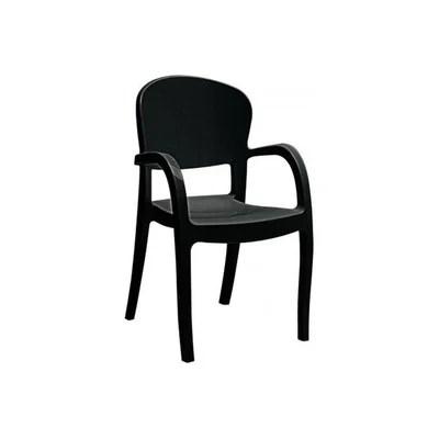 chaise design noir la redoute