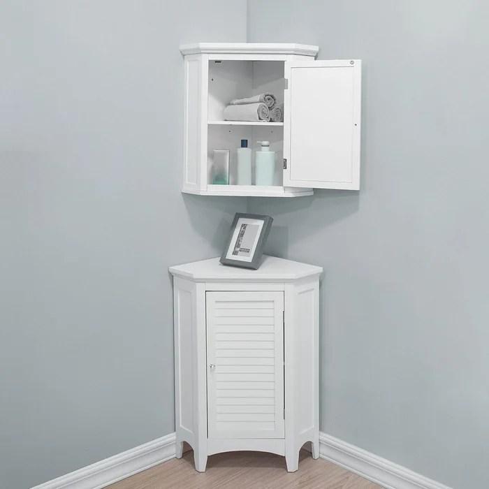 meuble d angle bas de rangement de salle de bain ethan