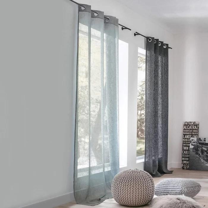 voilages avec double rideaux
