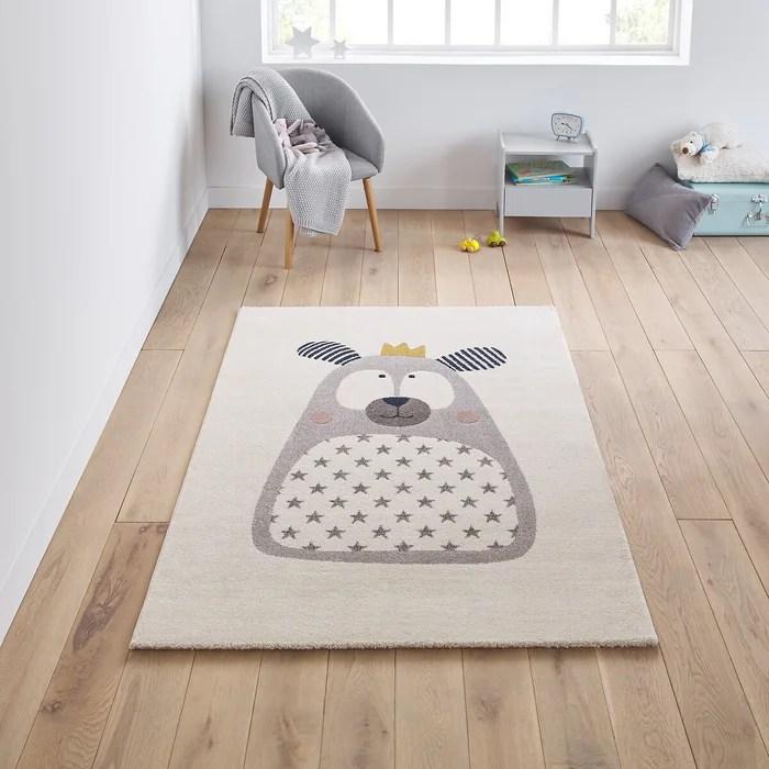 tapis enfant motif ours ursa