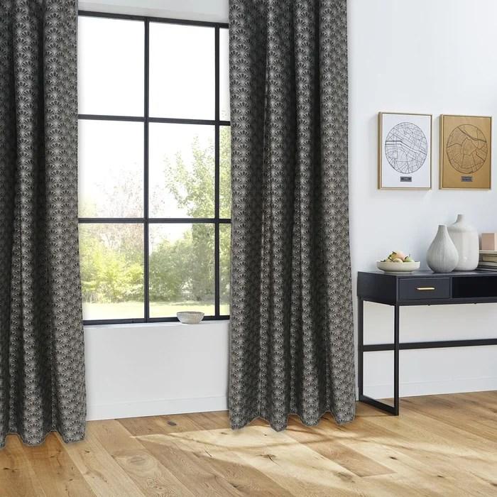 rideau fil textile art deco