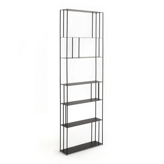 bibliotheque metal h240 cm parallel xl slim