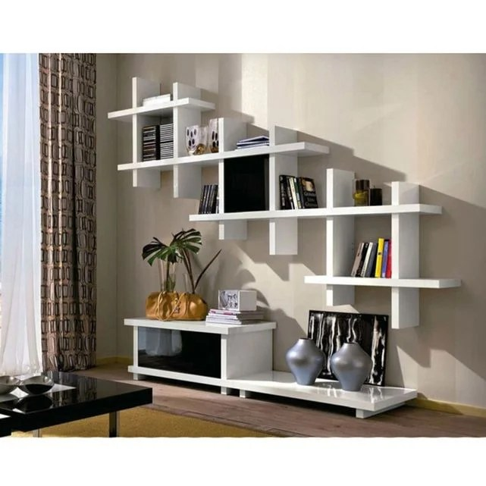 meuble tv design avec porte alba 180x50cm par zendart design