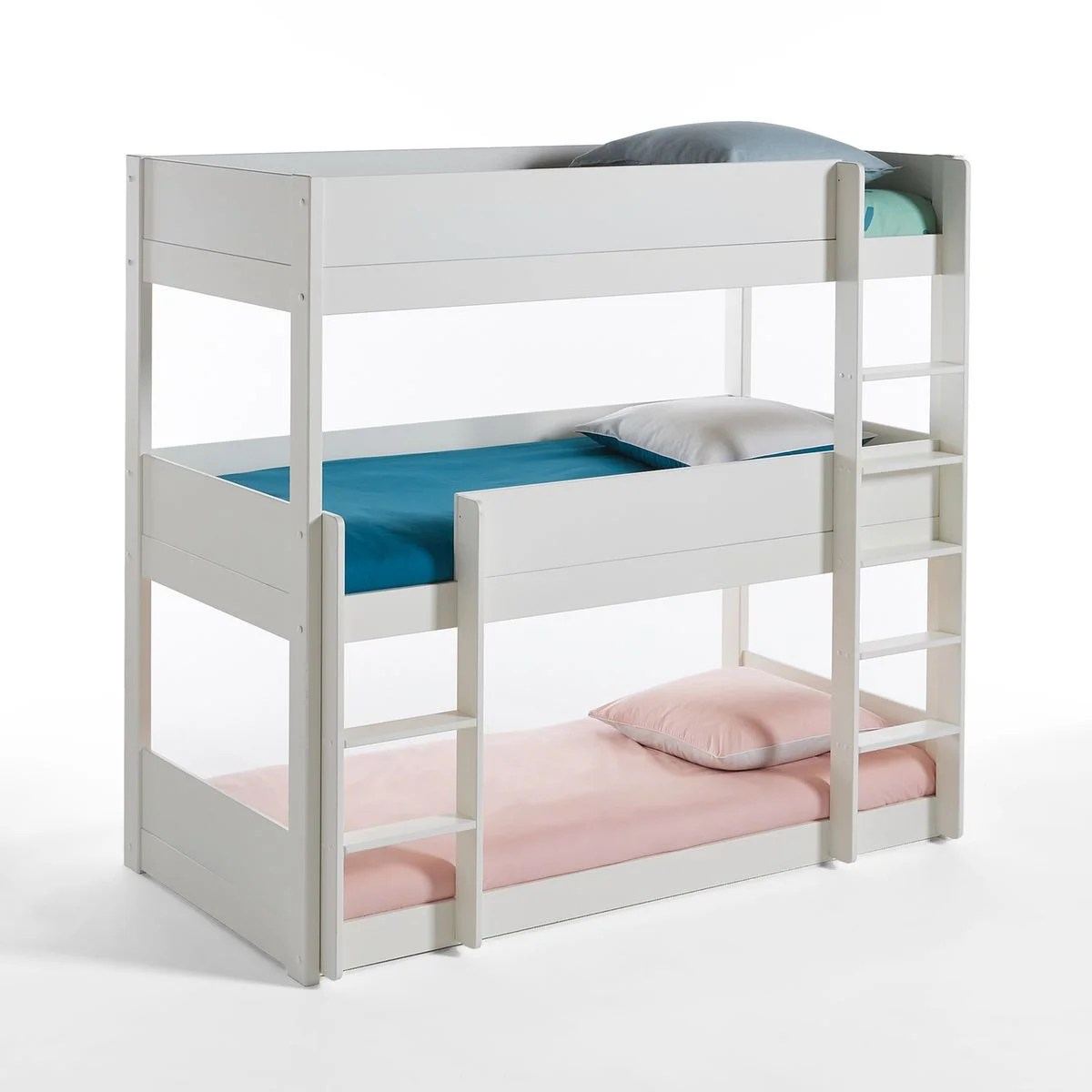 Lits Superposs 3 Couchages Meeting Blanc La Redoute