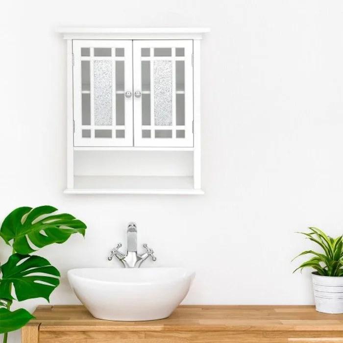 placard mural de salle de bain en bois windsor