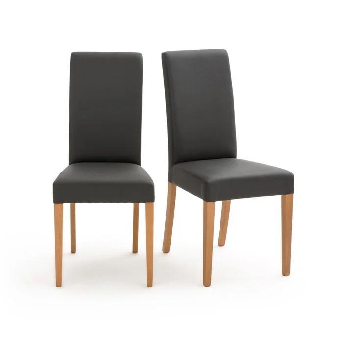 lot de 2 chaises kuri