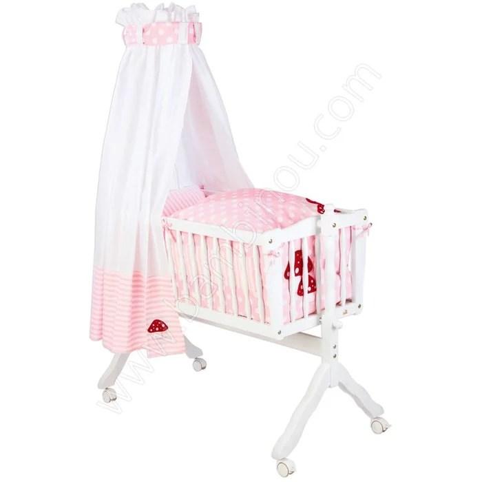 ensemble textile lit berceau pinolino rose et blanc pinolino rose et blanc pinolino la redoute
