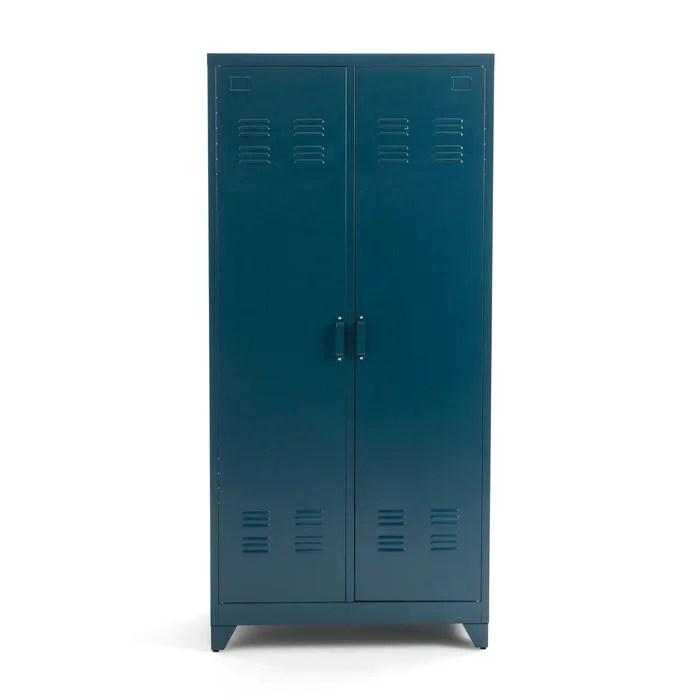 armoire 2 portes en metal hiba
