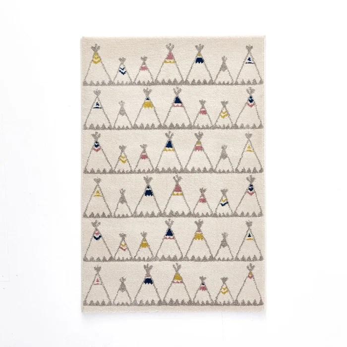 tapis enfant motif tipis zoupiou
