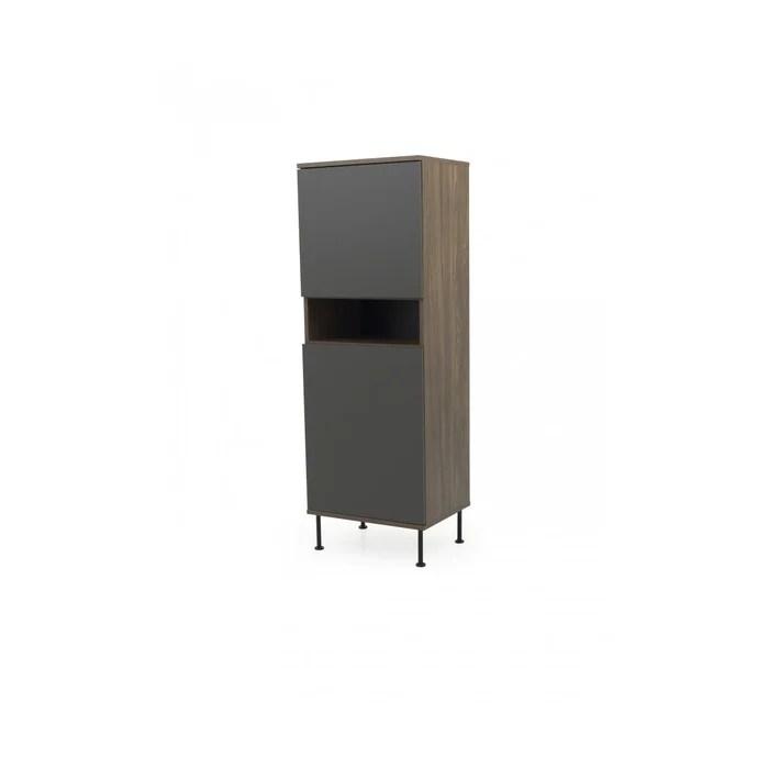 cabinet haut moderne 160cm deno