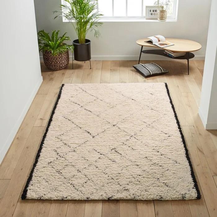 tapis pure laine style berbere anton