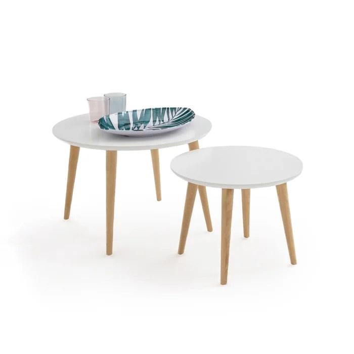 jimi set of 2 semi nesting coffee tables
