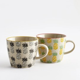 Imagen de Taza de cerámica, Tossita (lote de 4) La Redoute Interieurs