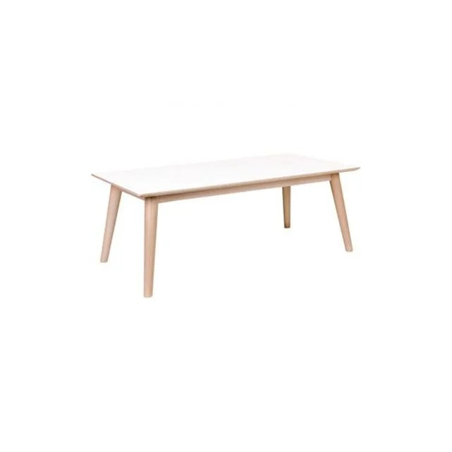 table basse scandinave blanche isabella
