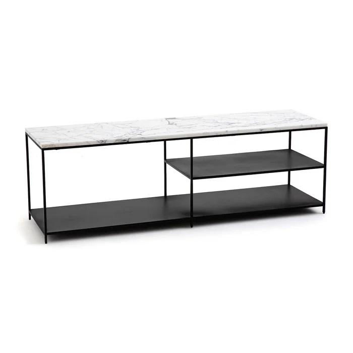 meuble tv enfilade marbre mahaut