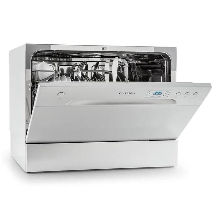 amazonia 6 mini lave vaisselle classe a 1380w 6 couverts 49 db gris
