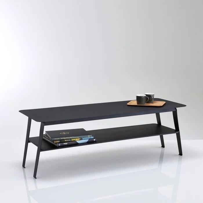 Table Basse Double Plateaux En Metal Hiba La Redoute Interieurs
