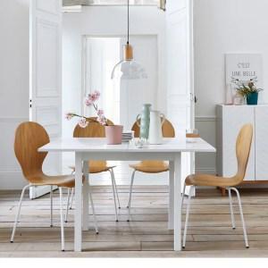 Imagen de Lote de sillas de roble contrachapado, JIMI La Redoute Interieurs