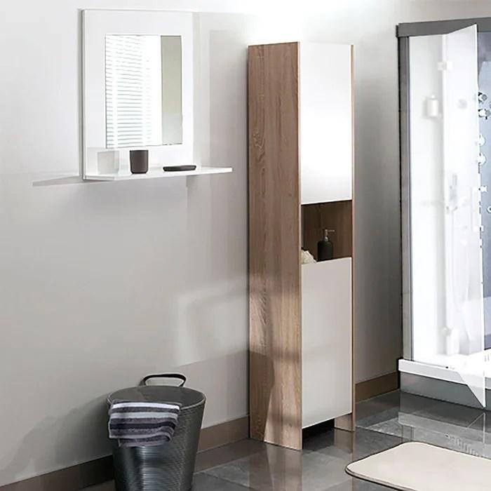 armoire colonne de salle de bain banero