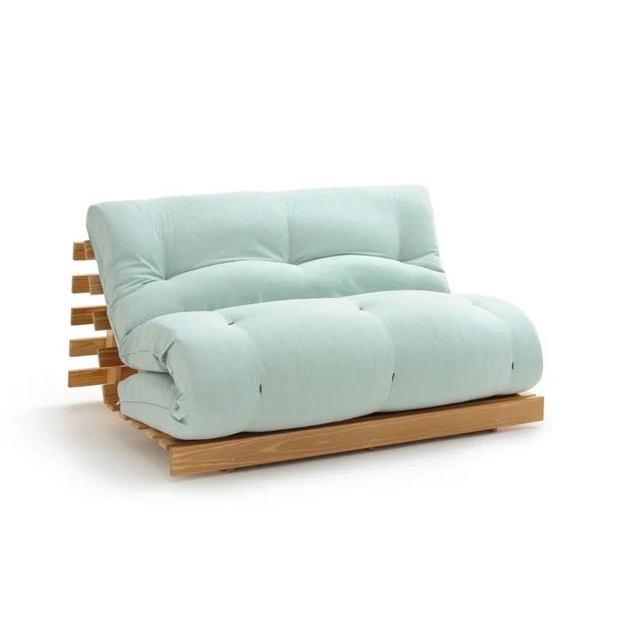 matelas futon latex laine lin pour banquette thai la redoute interieurs la redoute