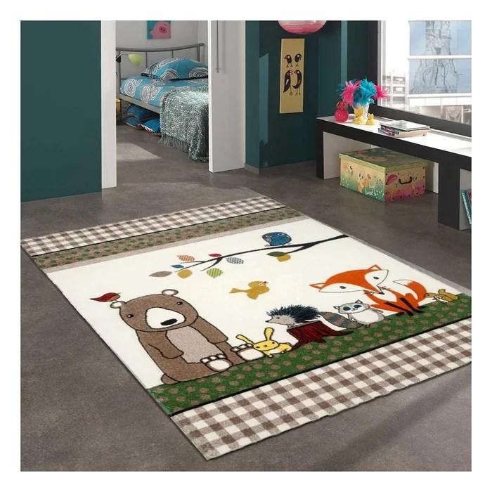 tapis enfant photo de foret