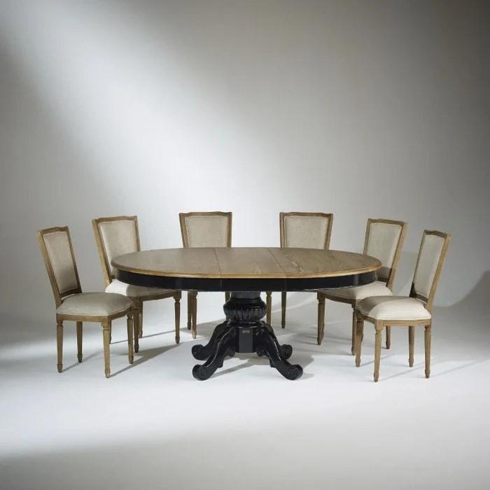 table extensible 8 a 10 couverts noire amboise