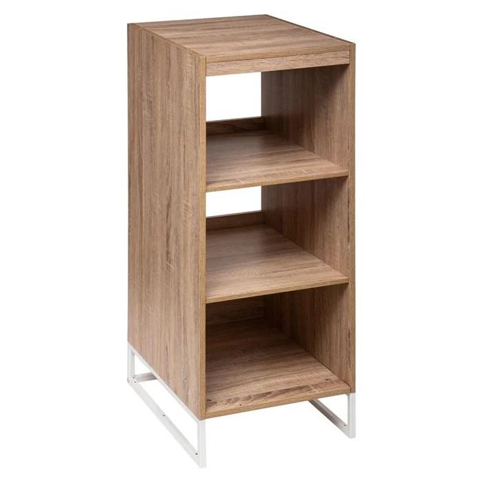 meuble de rangement design orso 3 etageres