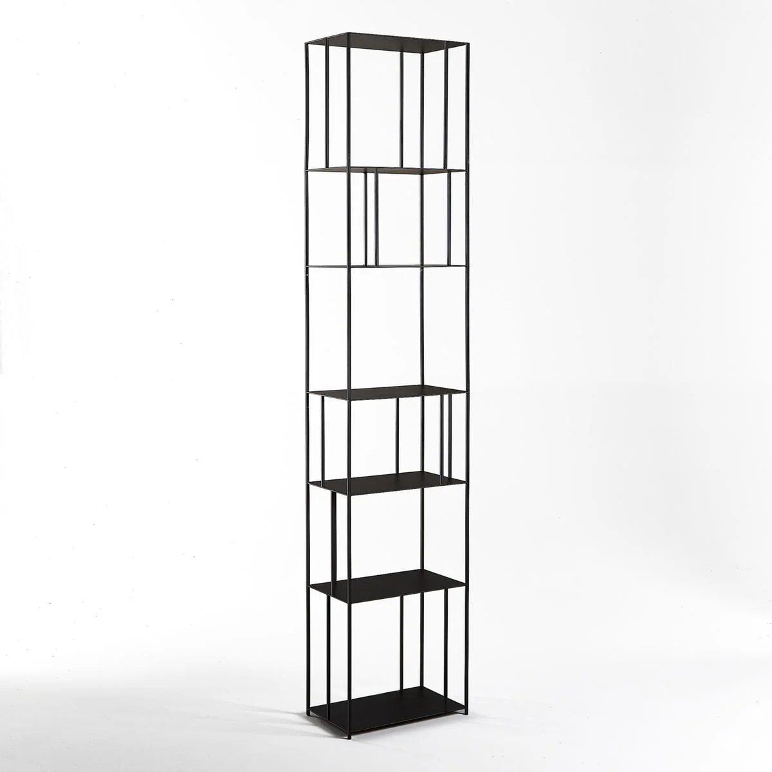 bibliotheque metal h240 cm parallel xl