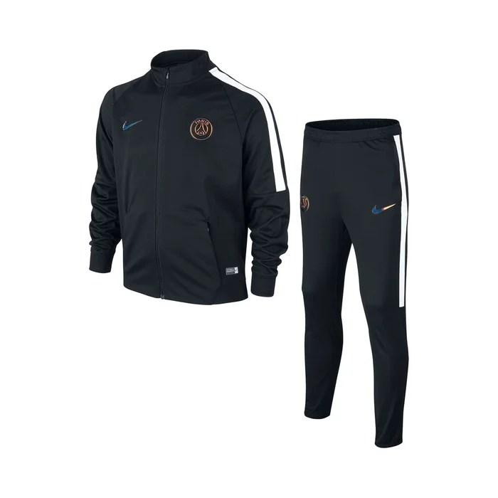 Survtement Psg Knit Squad Noir Noir Nike La Redoute