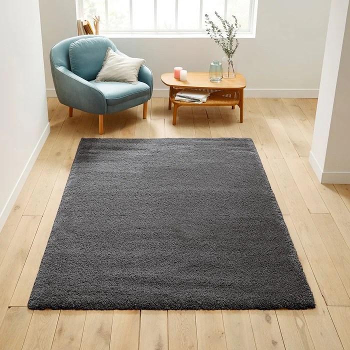 tapis shaggy aspect laineux afaw